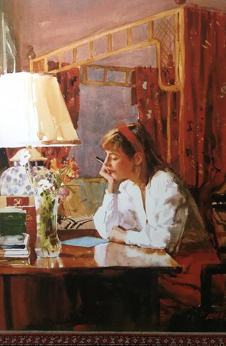 Isabel Montclaire - Painting