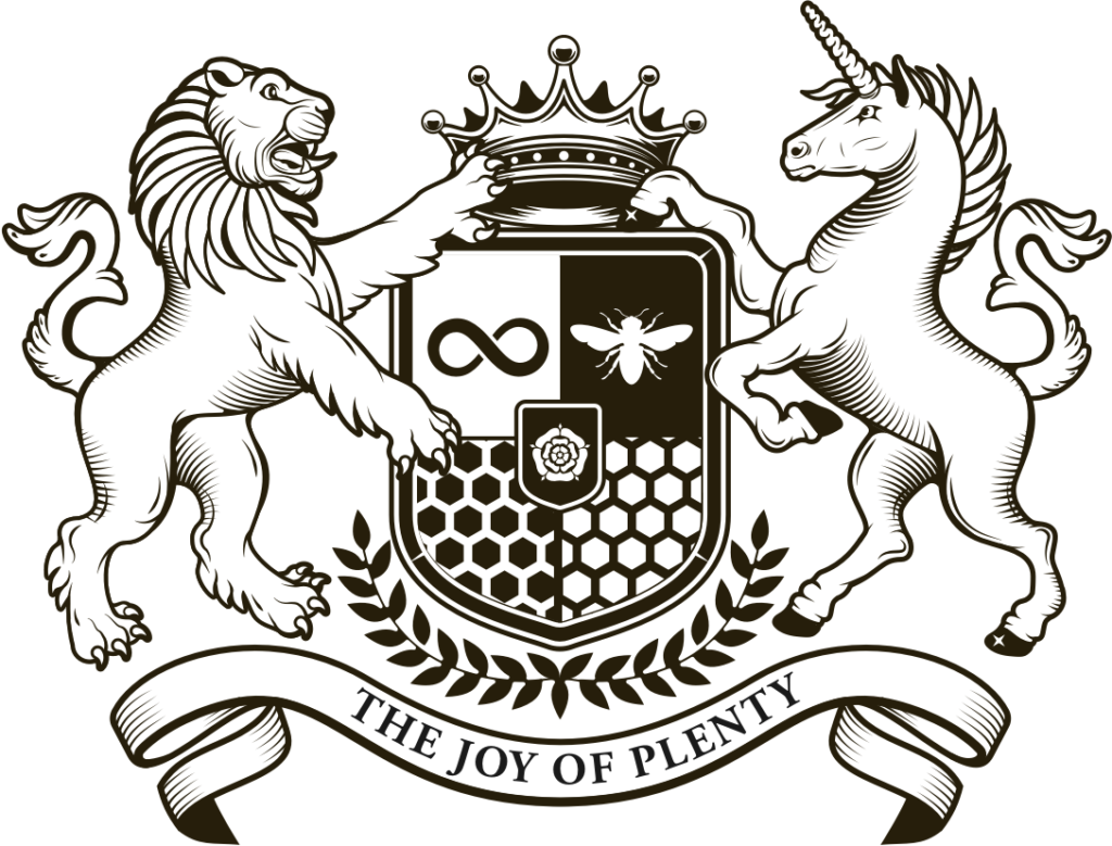 The Joy of Plenty - Coat of Arms